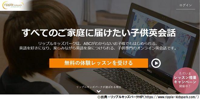 小学生の英検に強いオンライン英会話「リップルキッズパーク」