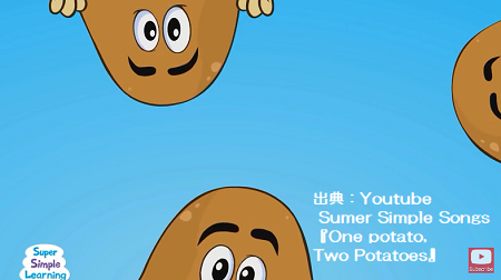 『One Potato, Two Potatoes』by Super Simple Songs