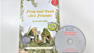 小学2年生の国語教科書に載っている『ふたりはともだち』の英語版